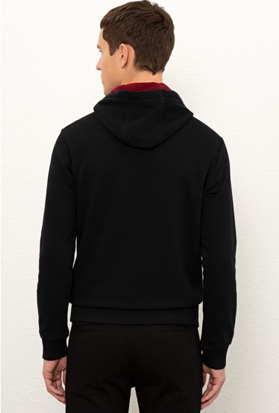 U.S. Polo Assn. Erkek Siyah Sweatshirt Basic 50225500-Vr046
