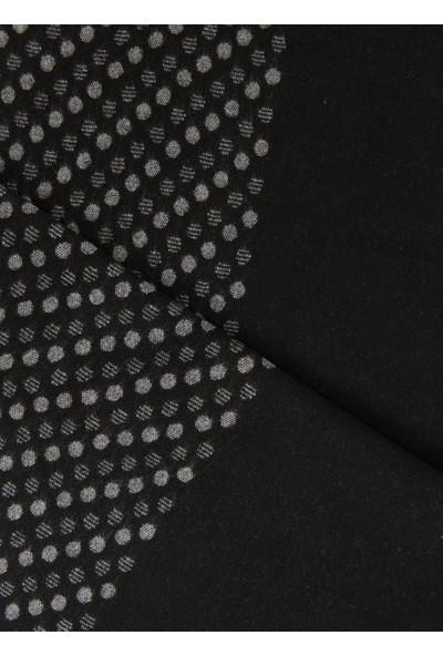 Altınyıldız Classics Gri-Siyah Desenli Örme Atkı