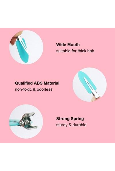 Buyfun 4 Adet Saç Tokası Yok Kırışık Metal Saç Tokası Kelepçeleri