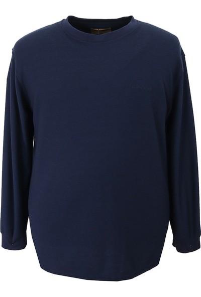 Grand Chiff Büyük Beden Erkek Sweatshirt & Petek Dokuma
