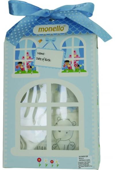 Monello Pattiseri 10Lu Erkek Bebek Zıbın Takımı Mavi