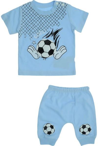 Eren Baby Erkek Bebek Futbol Topu Aplikeli Penye Takım