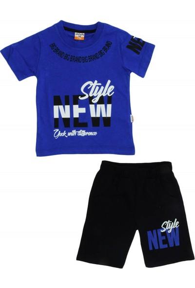 Baby Polo Erkek Çocuk New Style Baskılı Penye Takım