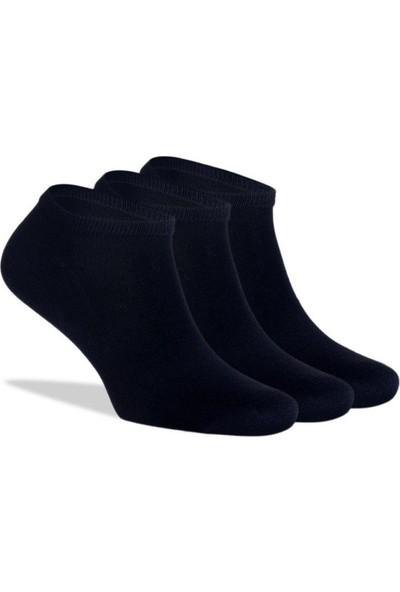 SRC 12 Adet Siyah Sneakers Kısa Spor Çorap