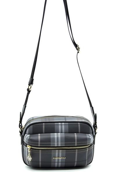 Silver & Polo Kadın Çapraz Çanta Füme Siyah 993