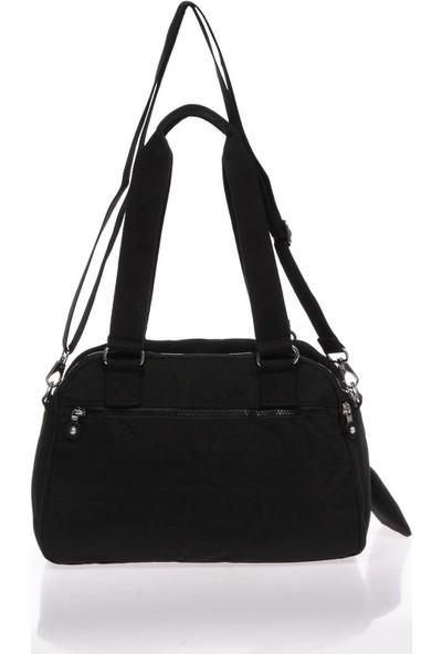 Smart Bags 1122 Siyah Krinkıl Omuz Çantası