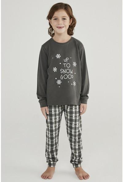 Penti Çok Renkli Erkek Çocuk Hot Tech Snow Good 2li Pijama Takımı