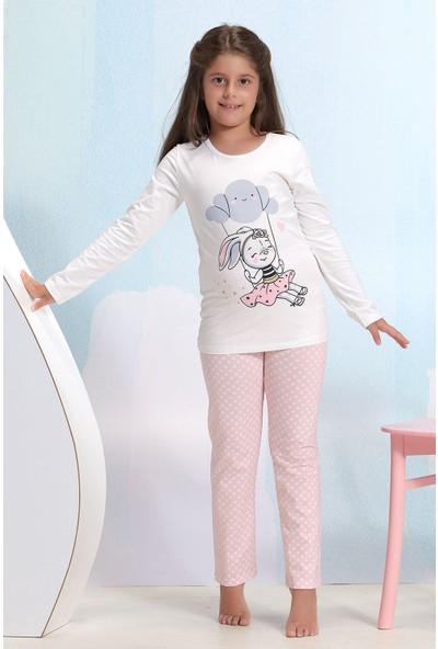 Zeyzey Baskılı Kız Çocuk Pijama Takım