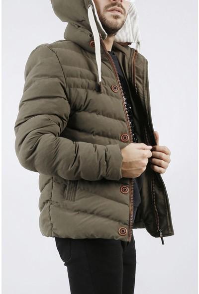 Xhan Haki Kapüşonlu Comfort Slim Fit Şişme Mont 0YXE4-44076-09