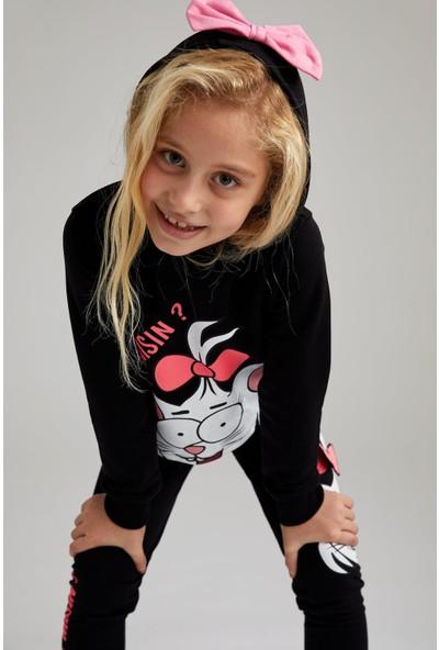 Defacto Kız Çocuk Kral Şakir Lisanslı Sweatshirt