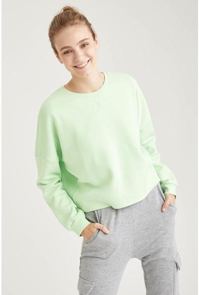Defacto Relax Fit Sweatshirt