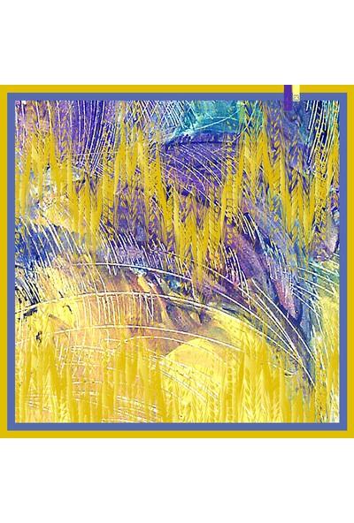 Junenext Aydan Baktır 63x63 cm Özel Tasarım Fular