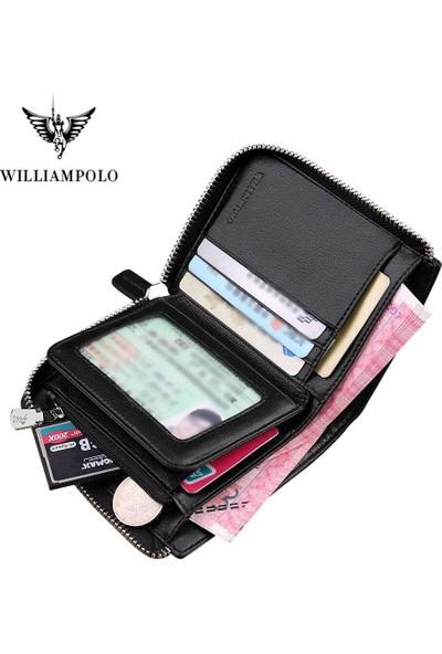 William Polo Premium Erkek Cüzdan Deri Italyan