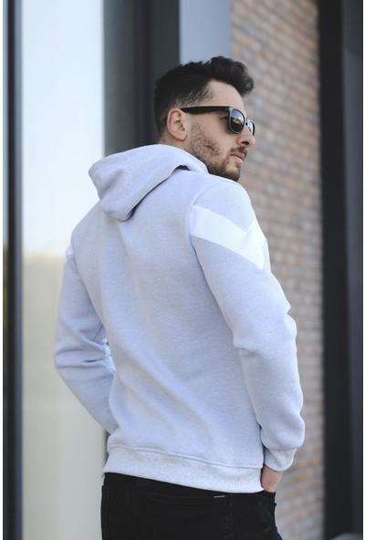 Oksit Louis 352 Slim Fit Erkek Polar Sweatshirt
