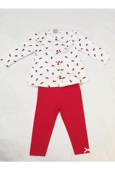 Deco Baby Kız Bebek Takım Elbise Taytlı