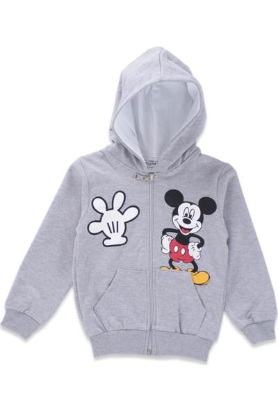 Mickey Mouse Erkek Çocuk Mickey Mouse Gri Eşofman Takımı
