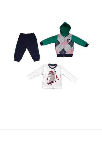 Bebeda Erkek Çocuk 3lü Takım