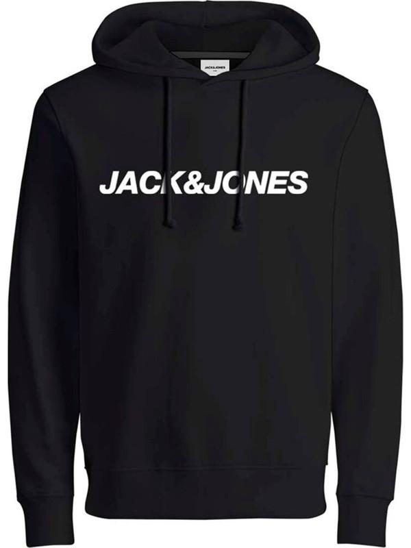 Jack&jones Jcovibe Kapüşonlu Erkek Sweatshirt