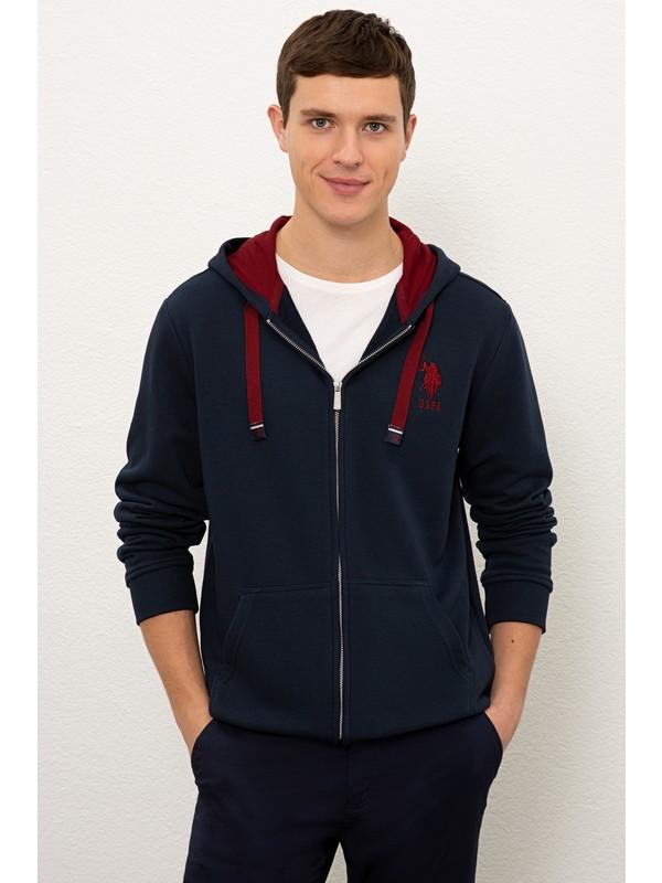 U.S. Polo Assn. Erkek Lacivert Sweatshirt 50225491-Vr033