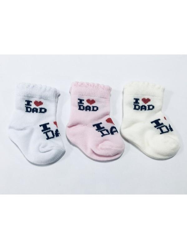 Bbs Yenidoğan 3'lü Bebek Çorap