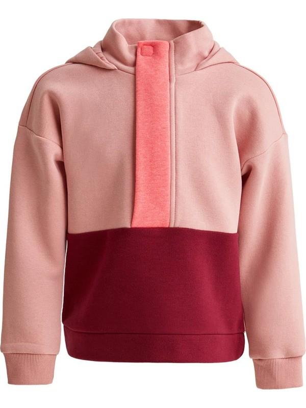 Defacto Kız Çocuk Relax Fit Kapüşonlu Sweatshirt