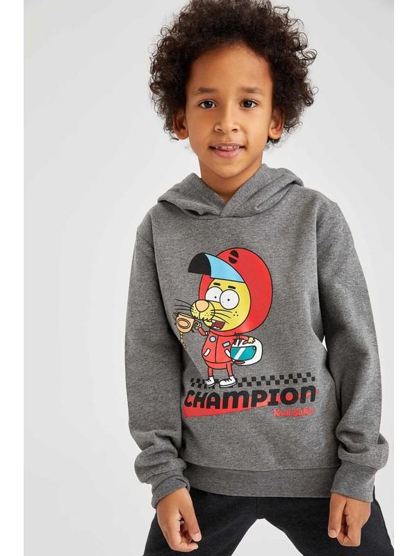 Defacto Erkek Çocuk Kral Şakir Lisanslı Sweatshirt S9427A620WN