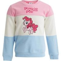 Defacto Kız Çocuk Renk Bloklu My Little Pony Lisanslı Sweatshirt