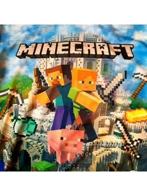 Minecraft Hayranlarına En Özel Tasarım-Özel Baskı Çocuk Sweat