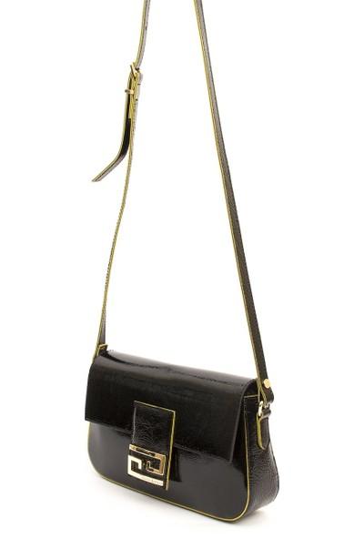 Silver & Polo Kadın Çapraz Çanta Siyah 986