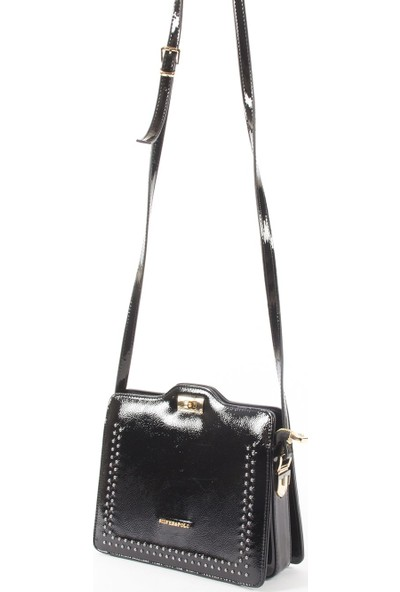 Silver & Polo Kadın Çapraz Çanta Siyah 990