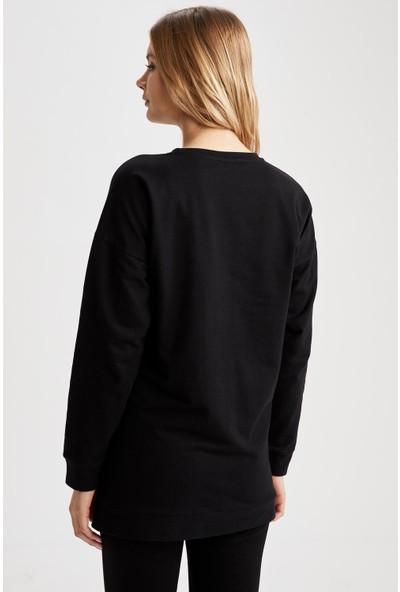 Defacto Kadın Disney Lisanslı Hamile Sweatshirt
