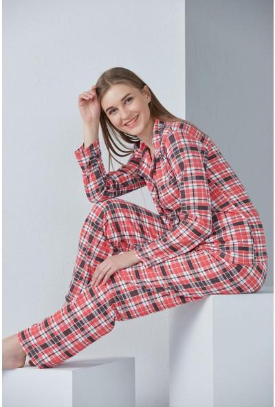 Düğmeli Pijama Takım