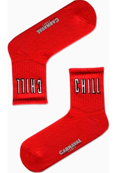 Carnaval Socks 7'li Nyc Yazılı Desenli Renkli Spor Çorap Set
