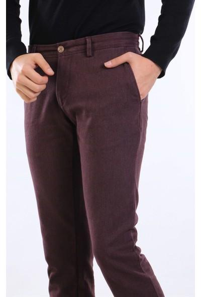 İntersivin Nrt-20 Pamuklu Kışlık Bordo Erkek Pantolon