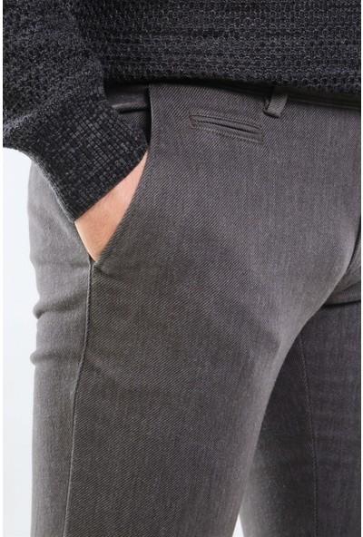 İntersivin Nrt-20 Pamuklu 5 Cepli Kışlık Haki Erkek Pantolon