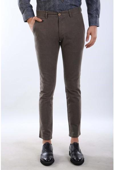 İntersivin Nrt-19 Slim Fit Kesim Kışlık Pamuklu Pantolon