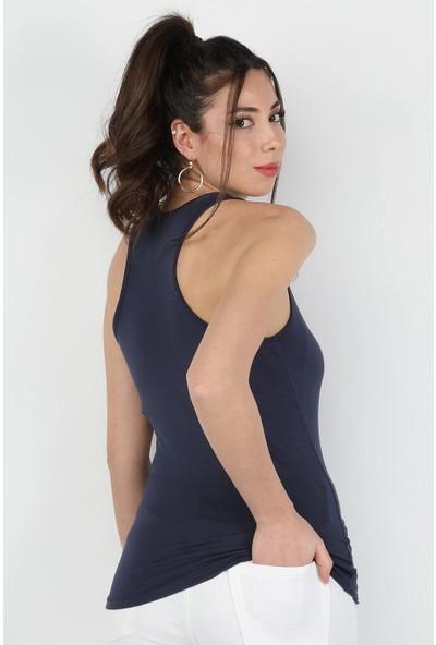 Balins Kadın Viskon Atlet Lacivert