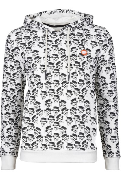 Bad Bear Abracadabra Hoodie Off-White Sweat Shirt