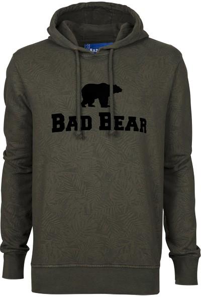 Bad Bear Bad Bear Hoodie Khakı Sweat Shirt