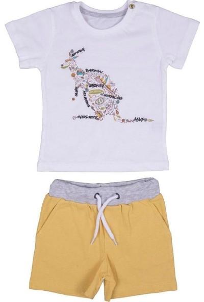 Bebepan 3819 Bebek Canyon Kangaroo Tshirt Şort Tak