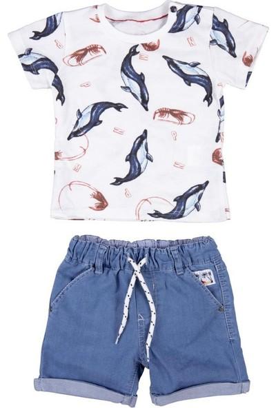 Bebepan 3887 Bebek Seaside Kotşort Tshirt Takım