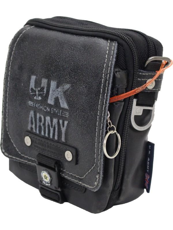 Ççs Uk7-3e Uk Army Omuz Askılı Portföy Çanta ve Bel Çantası