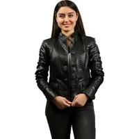 Franko Armondi Kadın Deri Klasik Luxury Mont Komple Siyah Bk-796-18642 Fa2