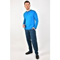 Dagi 10306 Erkek Uzun Kollu Pijama Takımı