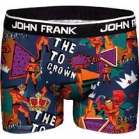 John Frank JFBD319 Storm Dijital Baskılı Erkek Boxer Desenli