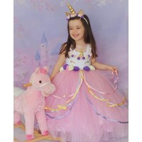 Patiska Nostalji Unicorn Kostümü