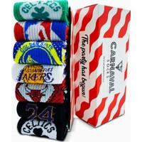 Carnaval Socks 7'li Basketbol Team Desenli Spor Çorap
