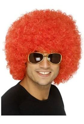 Tam İthalat Kabarık Bonus Peruk Saç - Turuncu