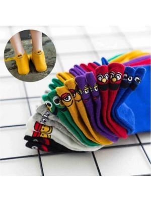 ENG Emoji Desenli Çorap