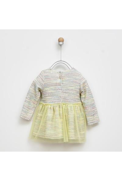 Panço Kız Bebek Elbise 2021GB26012